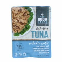 Good Catch Fish Free Tuna  Naked in Water  3.3 oz