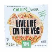 Cauliflower Veggie Pizza