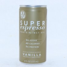 Kitu Super Espresso Vanilla