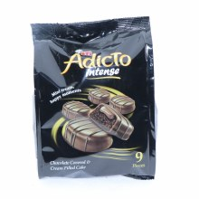 Eti Adicto Intense Chocolate Covered & Cream Filled Cake   144 g