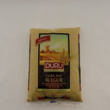 Duru Extra Fine Bulgur Stoned Milled Produced From Durum Wheat