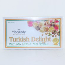 Hacizade Turkish Delight with Mix Nuts & Mix Flavour 16 oz