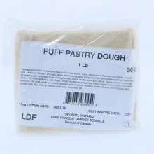 Puff Pastry Dough 16 oz