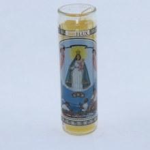 Brilux Our Lady of Charity/Virgen de la Caridad del Cobre Candle 1 pc