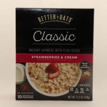 Better Oats strawberry cream