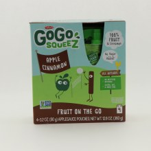 Gogo Squeez Apple Cinnamon