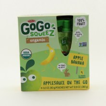 Gogo Sqz Apple/banana