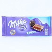 Milka Milk Chocolate Confection Bar with Oreo