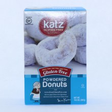 Katz Gluten Free Powdered Donuts Dairy Free Nut Free and Soy Free