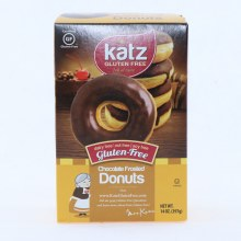 Katz Gluten Free Chocolate Frosted Donuts Dairy Free Nut Free and Soy Free