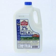 Sassy Cow 2Per Cent Reduced Fat Milk Gallon 128 oz