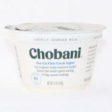 Chobani 0% Plain