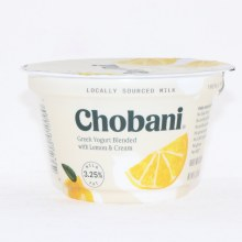Chobani 0% Lemon Yogurt