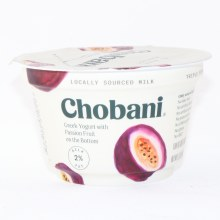 Chobani 2% Passion Fruit