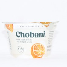 Chobani 0% Orange Cream