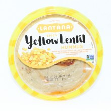 Lantana Spicy Yellow Lentil Hummus 10 oz
