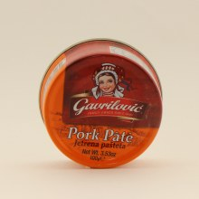 Gavrilovic pate Pork 3.53 oz