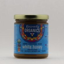 Heavenly Organics White Raw Honey  12 oz