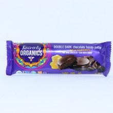 Heavenly Organics, Double Dark Chocolate Honey Pattie, 100% Organic, Raw White Honey, Non GMO, Gluten Free, Glyphosate Residue Free 1.16 oz