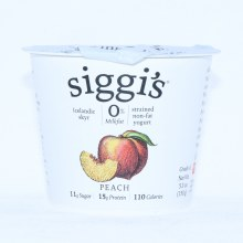 Siggi's Peach Yogurt