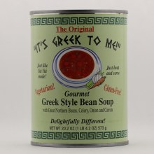 Its Greek To Me Bean Soup