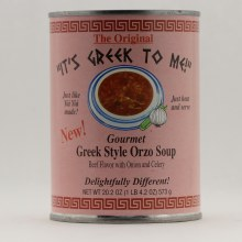It's Greek Beef flavor 20.2 oz each