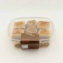 Jaafer Sweets Assorted Baklava, Contains Wheat, Tree Nuts, Milk 8 oz
