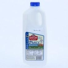 Sassy Cow Organic 2Per Cent Reduced Fat Milk 1/2 Gallon 64 oz