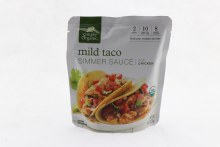 Simply Organic Mild Taco Simmer Sauce for Chicken
