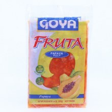 Goya Fruta Frozen Papaya Pulp  No Sugar Added  Gluten Free