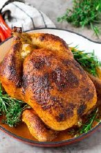 Roasted Greek Chicken