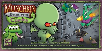 Munchkin Dungeon: Cthulhu Expansion English