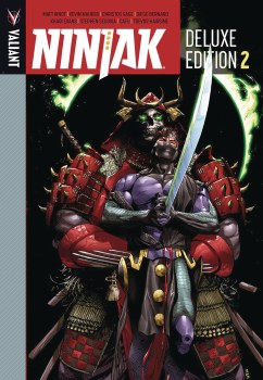 Ninjak Dlx Ed HC Book 02