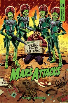 Mars Attacks #1 Cvr C Marron