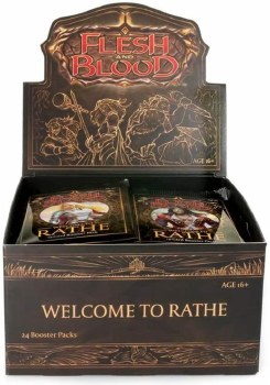 Flesh and Blood Welcome to Rathe Booster Display Unlimited E