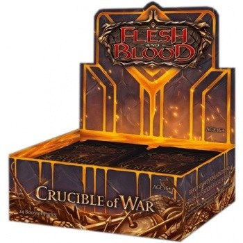 Flesh and Blood Crucible of War Booster Display 1st Edition