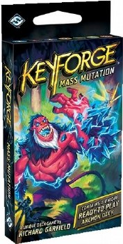 Keyforge Mass Mutation Archon Deck English