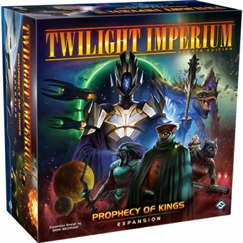 Twilight Imperium: Prophecy of Kings Expansion English