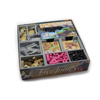 Five Tribes Boardgame Organiser Insert