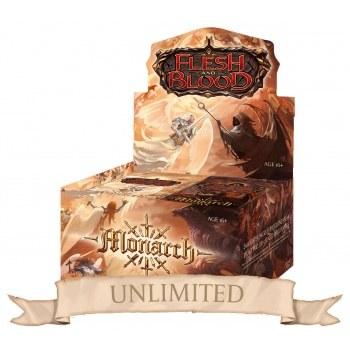 Flesh and Blood Monarch Unlimited Booster Box PREORDER