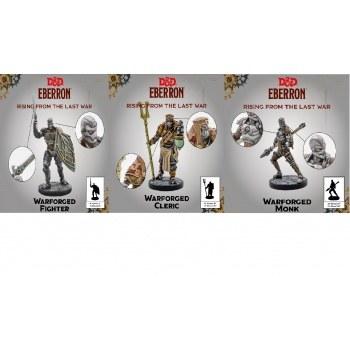 D&D Eberron Warforged - Cleric, Fighter & Monk EN