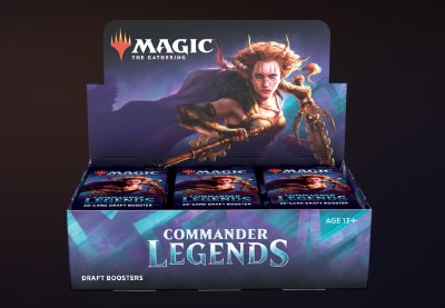 Magic Commander Legends Booster Display Deutsch