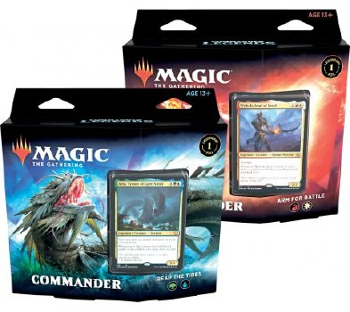 Magic Commander Legenden Commander Deck Bundle Deutsch