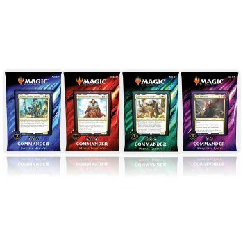 Magic Commander Decks 2019 Bundle English (4 Decks)