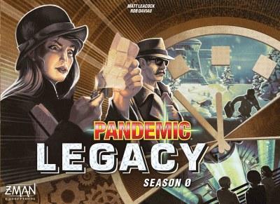 Pandemic Legacy Season Zero English