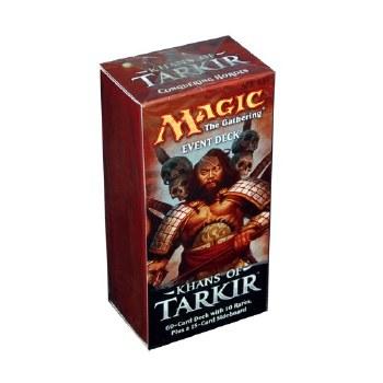 Magic Khans of Tarkir Event Deck English