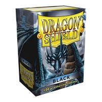 Dragon Shield Black Classic Standard Sleeves (100)