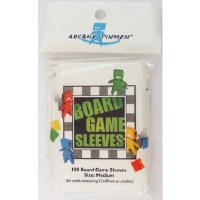 Board Games Sleeves American Medium Cards 57x89mm (100)