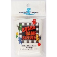 Board Games Sleeves European Small Cards 44x68mm (100)