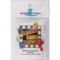 Board Games Sleeves American Mini Cards 41x63mm (100)